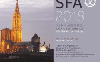Symposium sur le conflit postéro supérieur présidé par le Dr Yves LEFEBVRE lors du congrès de la SFA 2018